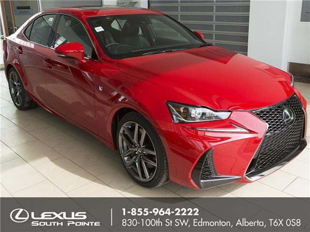 2018 Lexus IS 300 Base (Stk: L800307) in Edmonton - Image 1 of 19