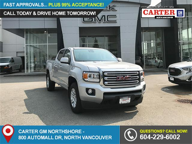 2018 GMC Canyon All Terrain w/Cloth (Stk: 8CN2538T) in Vancouver - Image 1 of 7