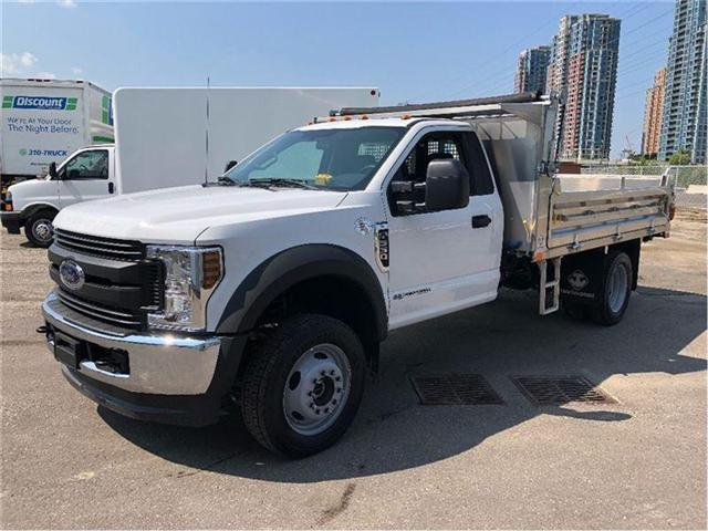 2018 Ford F-550 New 2018 F550 Dump Lease Special (Stk: DTG18359) in Toronto - Image 1 of 11