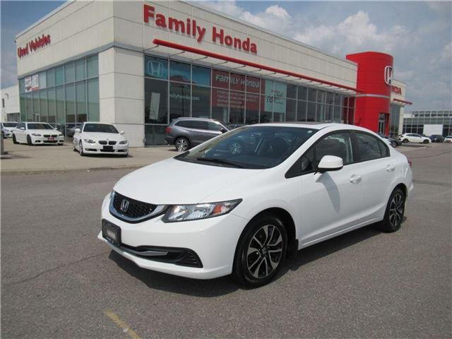 2013 Honda Civic EX (A5) (Stk: 8307419A) in Brampton - Image 1 of 29