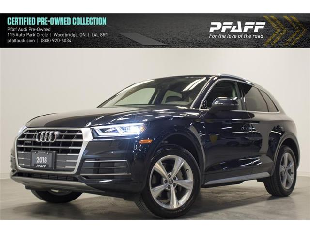 2018 Audi Q5 2.0T Progressiv (Stk: C6087) in Vaughan - Image 1 of 17