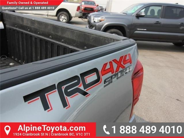 2016 Toyota Tacoma TRD Sport (Stk: X005033M) in Cranbrook - Image 14 of 15