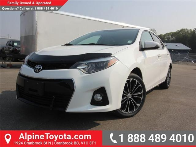 2014 Toyota Corolla S (Stk: C031987M) in Cranbrook - Image 1 of 16