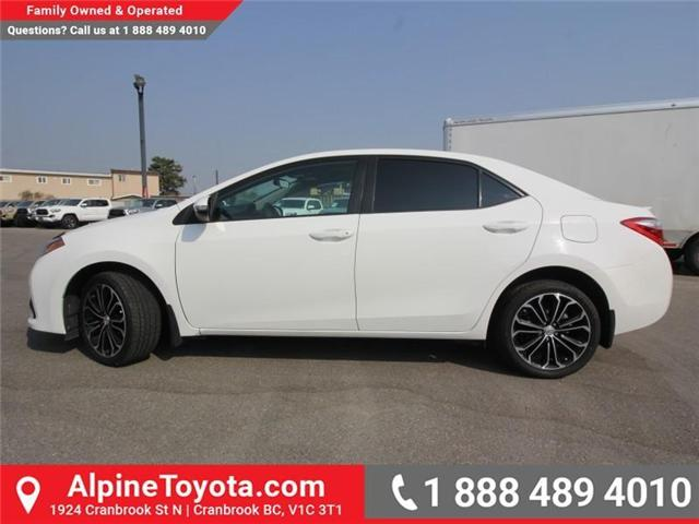 2014 Toyota Corolla S (Stk: C031987M) in Cranbrook - Image 2 of 16