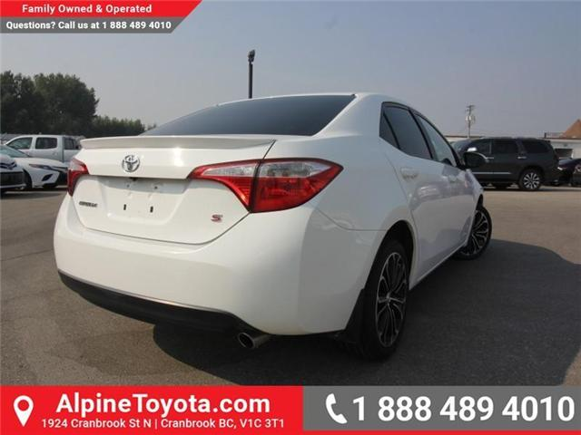 2014 Toyota Corolla S (Stk: C031987M) in Cranbrook - Image 4 of 16