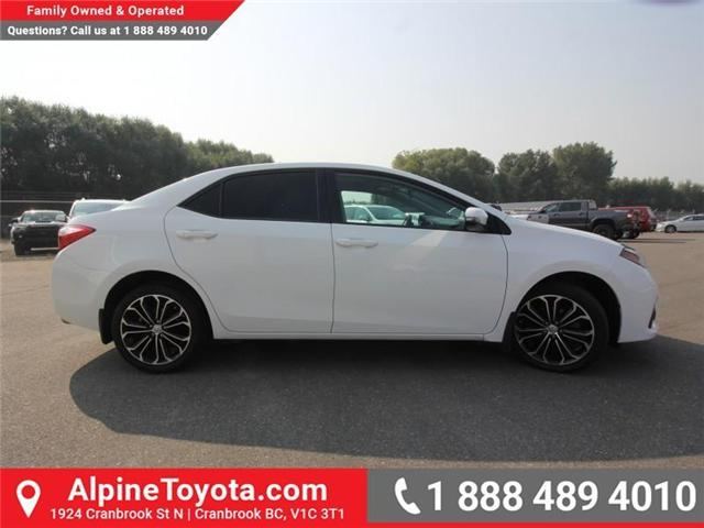 2014 Toyota Corolla S (Stk: C031987M) in Cranbrook - Image 5 of 16