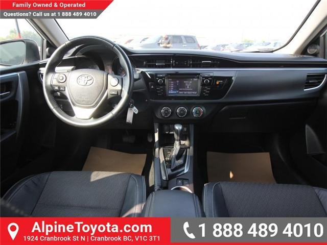 2014 Toyota Corolla S (Stk: C031987M) in Cranbrook - Image 9 of 16