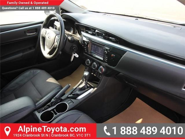 2014 Toyota Corolla S (Stk: C031987M) in Cranbrook - Image 10 of 16
