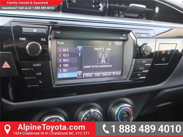 2014 Toyota Corolla S (Stk: C031987M) in Cranbrook - Image 12 of 16