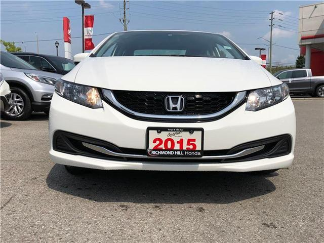 2015 Honda Civic EX (Stk: 2018P) in Richmond Hill - Image 2 of 20