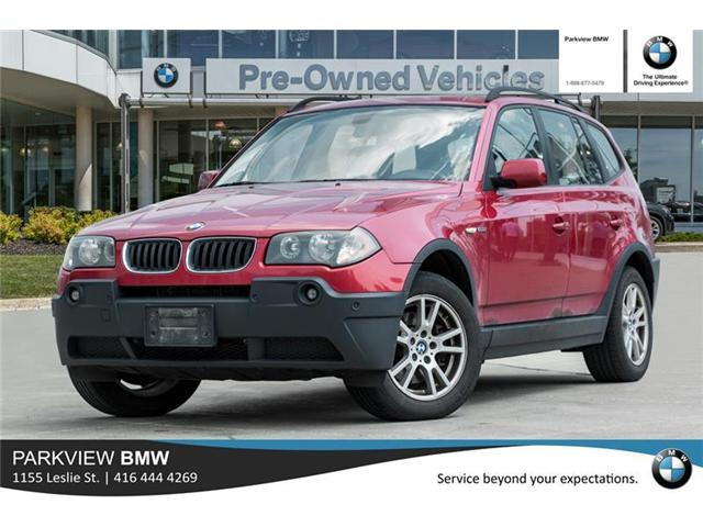 2006 BMW X3 2.5i (Stk: PP8074A) in Toronto - Image 1 of 19