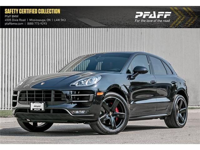 2016 Porsche Macan Turbo (Stk: 21074A) in Mississauga - Image 1 of 22