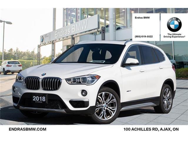 2018 BMW X1 xDrive28i (Stk: P5567) in Ajax - Image 1 of 22