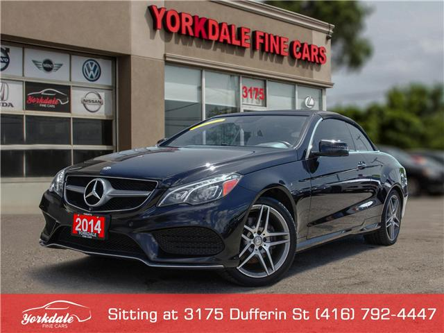 2014 Mercedes-Benz E-Class  (Stk: S1729) in Toronto - Image 1 of 30