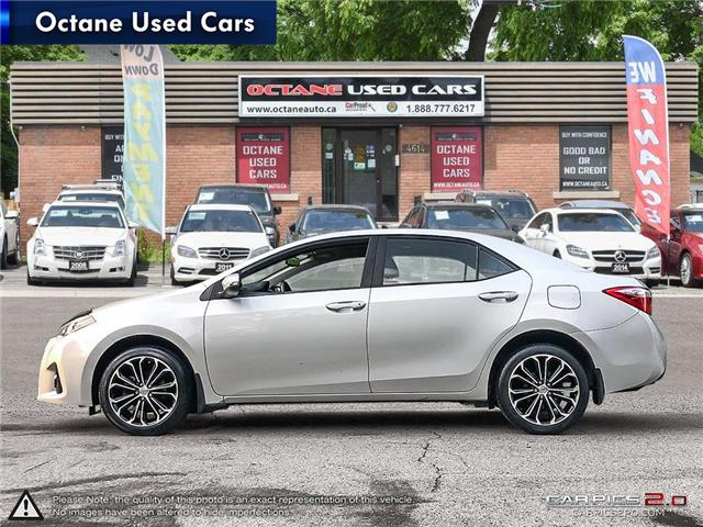 2014 Toyota Corolla S (Stk: ) in Scarborough - Image 3 of 21