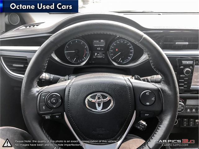 2014 Toyota Corolla S (Stk: ) in Scarborough - Image 10 of 21