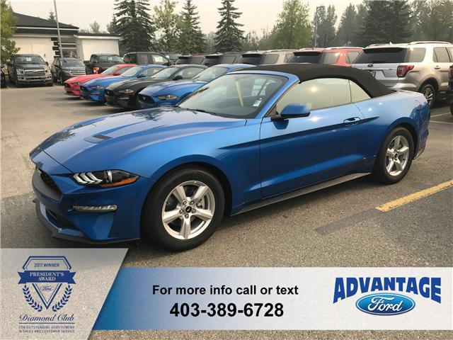 2019 Ford Mustang EcoBoost (Stk: K-047) in Calgary - Image 1 of 5