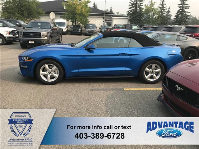 2019 Ford Mustang EcoBoost (Stk: K-047) in Calgary - Image 2 of 5