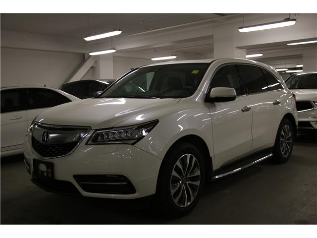 2016 Acura MDX Technology Package (Stk: M12170A) in Toronto - Image 1 of 3