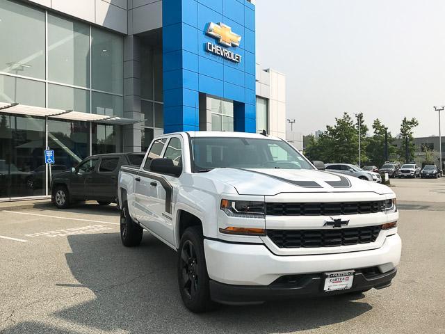 2018 Chevrolet Silverado 1500 Silverado Custom (Stk: 8L5789T) in North Vancouver - Image 2 of 6