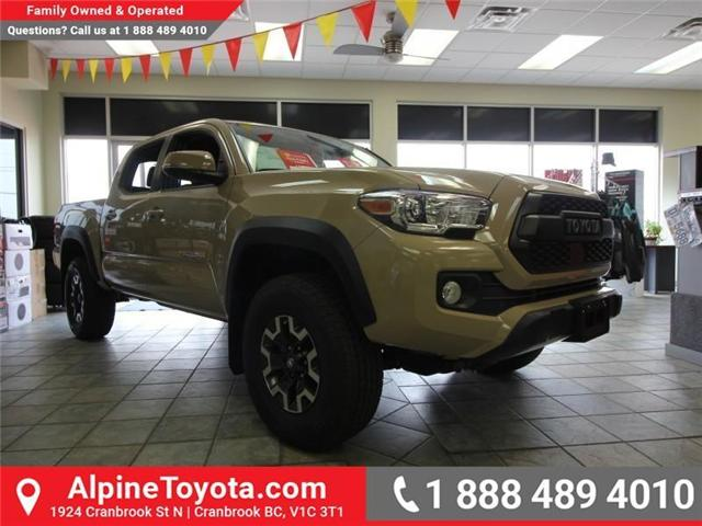 2018 Toyota Tacoma TRD Off Road (Stk: X150309) in Cranbrook - Image 1 of 2