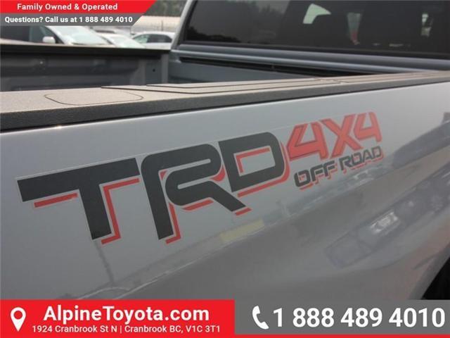 2018 Toyota Tundra SR5 Plus 5.7L V8 (Stk: X759084) in Cranbrook - Image 15 of 16