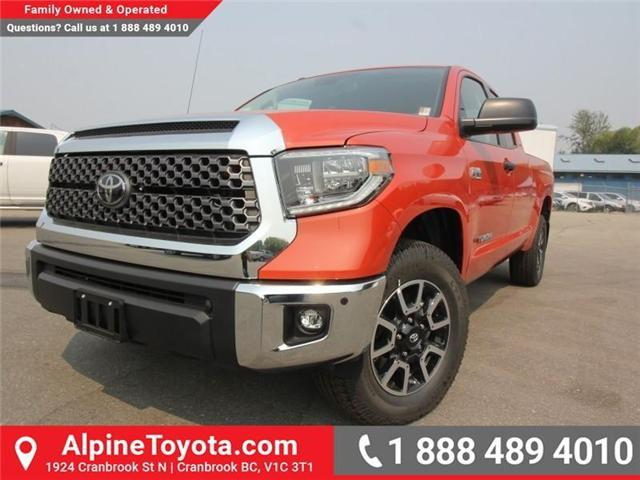 2018 Toyota Tundra  (Stk: X759357) in Cranbrook - Image 1 of 15