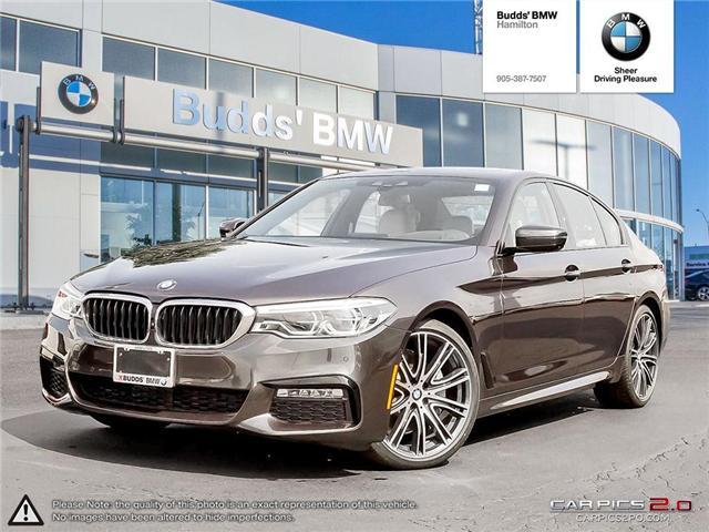 2018 BMW 540 i xDrive (Stk: B23587) in Hamilton - Image 1 of 27
