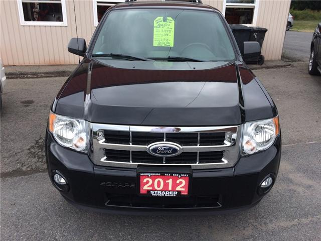 2012 Ford Escape XLT (Stk: svg645) in Morrisburg - Image 1 of 7