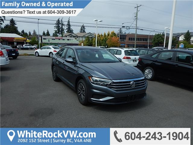 2019 Volkswagen Jetta 1.4 TSI Highline (Stk: KJ048286) in Surrey - Image 1 of 28