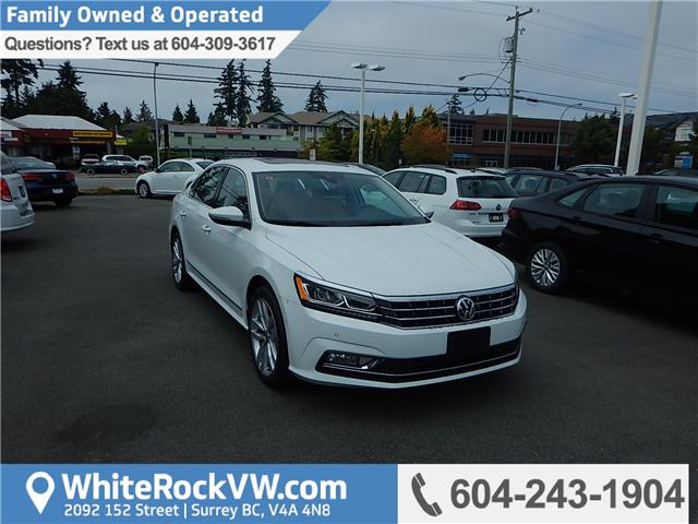 2018 Volkswagen Passat 2.0 TSI Highline (Stk: JP026981) in Surrey - Image 1 of 27