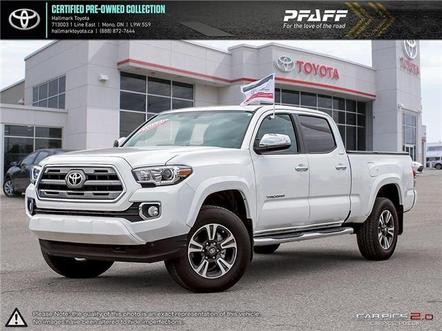2017 Toyota Tacoma 4x4 Double Cab V6 Limited 6A (Stk: HU4421) in Orangeville - Image 1 of 30