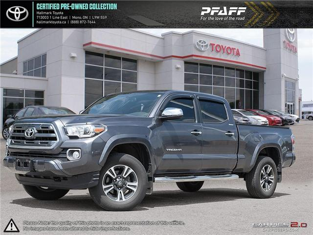 2017 Toyota Tacoma 4x4 Double Cab V6 Limited 6A (Stk: HU4442) in Orangeville - Image 1 of 30
