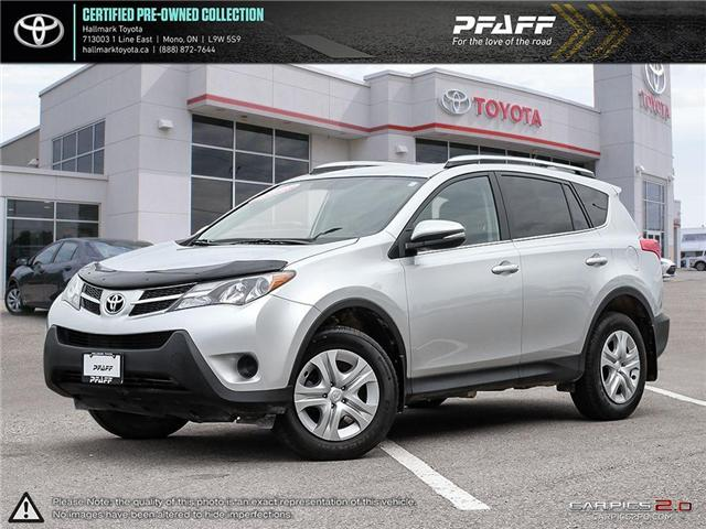 2015 Toyota RAV4 AWD LE (Stk: H18713A) in Orangeville - Image 1 of 30