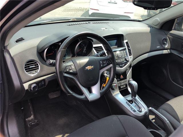 2014 Chevrolet Cruze LT|1.4L TURBO | REMOTE START | BLUETOOTH| (Stk: PA17314) in BRAMPTON - Image 9 of 15