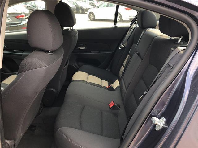 2014 Chevrolet Cruze LT|1.4L TURBO | REMOTE START | BLUETOOTH| (Stk: PA17314) in BRAMPTON - Image 11 of 15