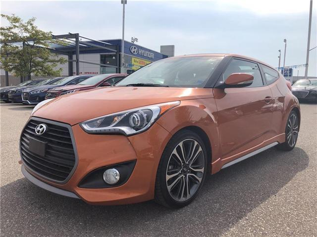 2016 Hyundai Veloster Turbo Tech (Stk: KMHTC6) in Brampton - Image 1 of 14