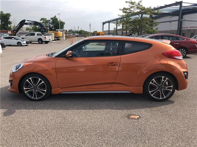 2016 Hyundai Veloster Turbo Tech (Stk: KMHTC6) in Brampton - Image 2 of 14