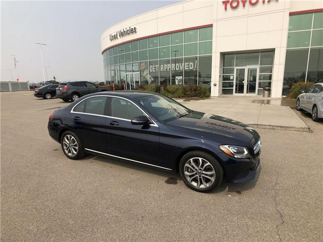 2017 Mercedes-Benz C-Class Base (Stk: 284124) in Calgary - Image 1 of 17