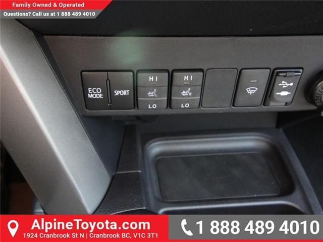 2018 Toyota RAV4 LE (Stk: W813176) in Cranbrook - Image 13 of 16