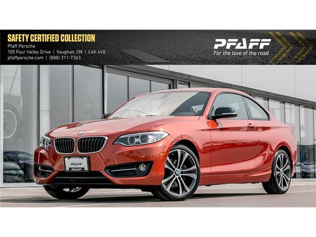 2015 BMW 228i xDrive Coupe (Stk: P13134A) in Vaughan - Image 1 of 22