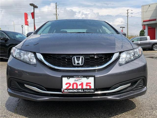2015 Honda Civic EX (Stk: 181274P) in Richmond Hill - Image 2 of 19