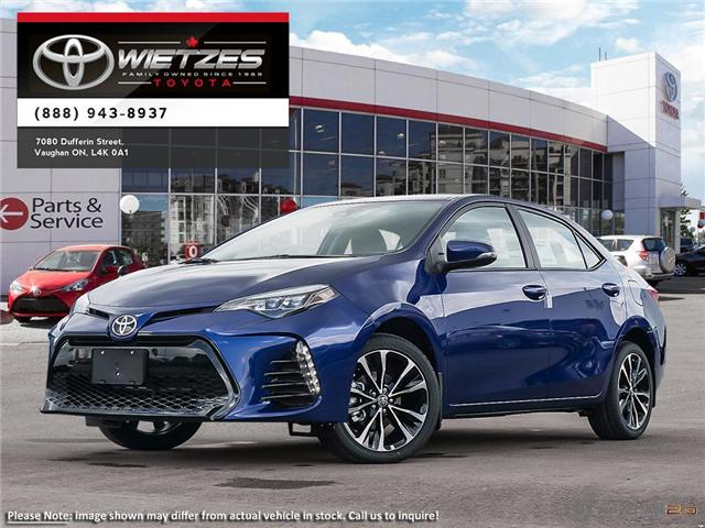 2019 Toyota Corolla Se Upgrade Package Se Upgrade Package Sunroof