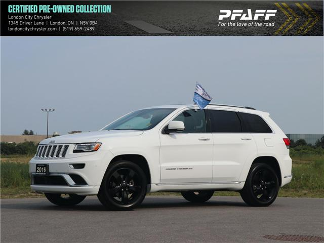 2016 Jeep Grand Cherokee Summit (Stk: 8851A) in London - Image 1 of 26