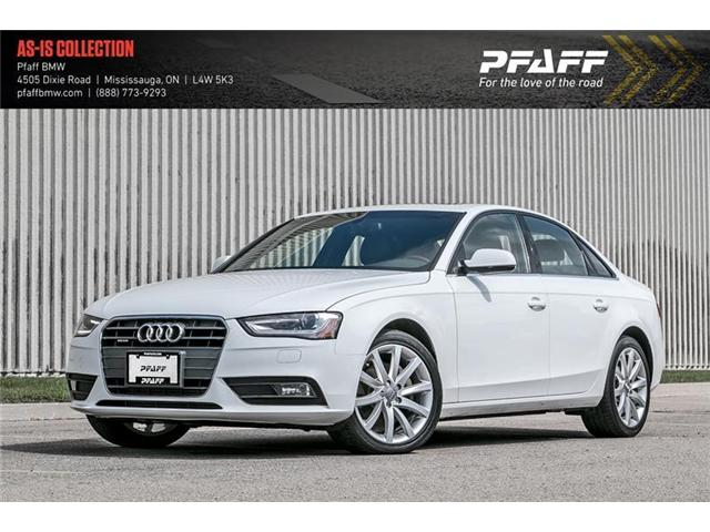 2013 Audi A4 2.0T Premium Plus (Stk: 20936A) in Mississauga - Image 1 of 22