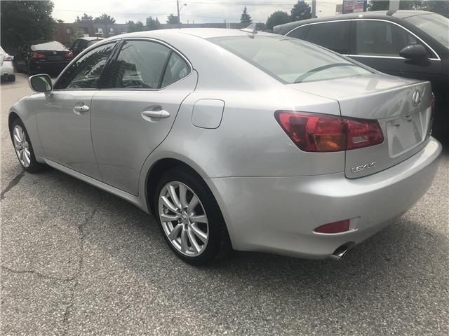 2008 Lexus IS 250 Base (Stk: ) in Concord - Image 6 of 21