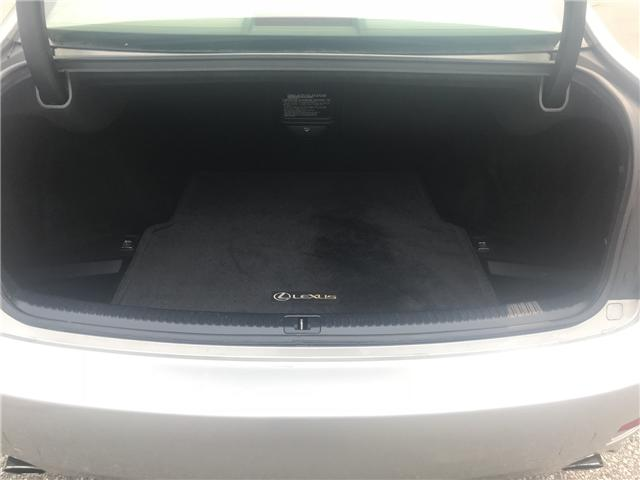 2008 Lexus IS 250 Base (Stk: ) in Concord - Image 9 of 21