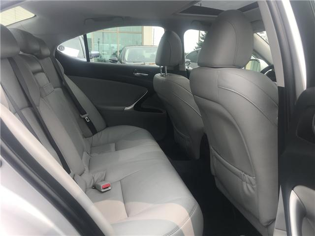 2008 Lexus IS 250 Base (Stk: ) in Concord - Image 10 of 21