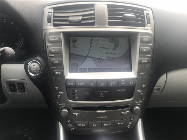 2008 Lexus IS 250 Base (Stk: ) in Concord - Image 18 of 21