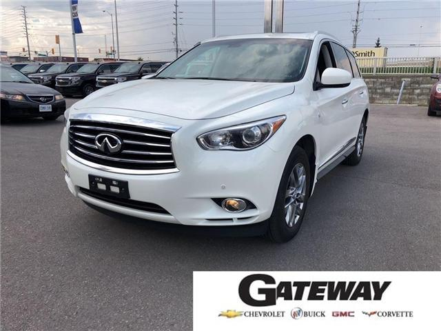 2015 Infiniti QX60 Base|NAV|LEATHER|SUNROOF|REAR CAMERA| (Stk: 383830A) in BRAMPTON - Image 1 of 22